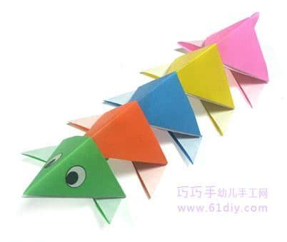 benefits of origami 彩色小蜈蚣 动物折纸教程 益智折纸 巧巧手幼儿手工网