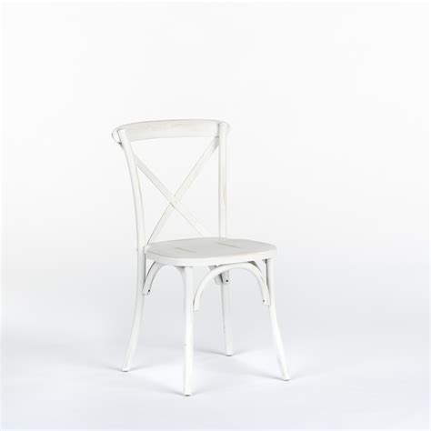 Distressed Bistro Chair Bistro Chair White Distressed Encore Events Rentals