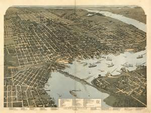 historic florida maps historical map of jacksonville fl 1893