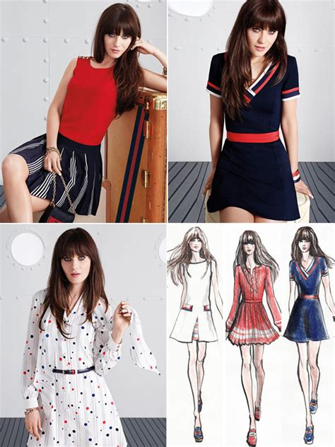 michael che and tommy hilfiger zooey deschanel s tommy hilfiger collection see it here