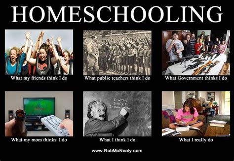 Home Schooling take up and read a wee bit of humor
