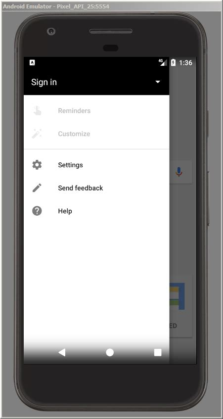 android menu button android standalone menu button with react stack overflow