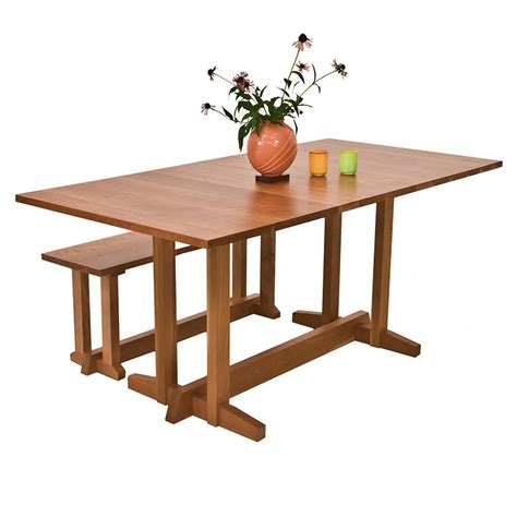 boston trestle dining table handmade solid wood