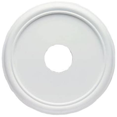 westinghouse 16 in smooth white finish ceiling medallion