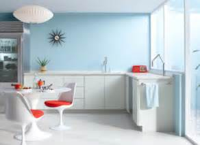 Blue Kitchen Paint Color Ideas vintage light robins egg blue kitchen 169 benjamin moore