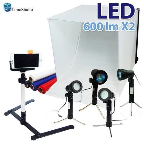 how to a light table for photography limostudio 24 quot folding photo box tent led light table top