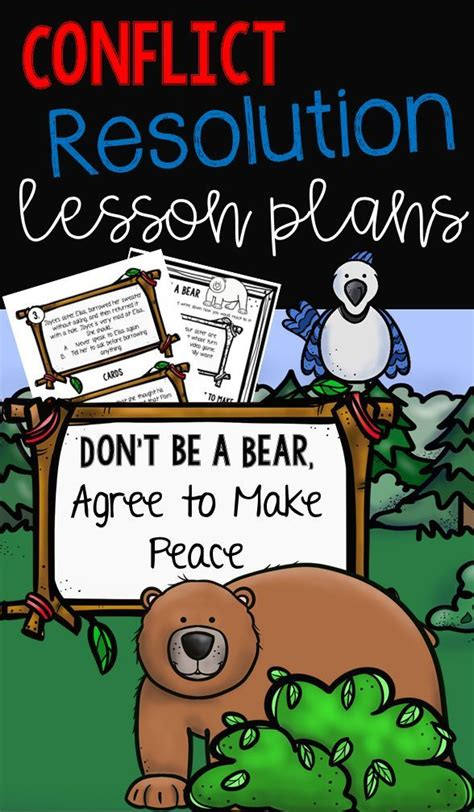 Conflict Resolution Lessons For Grades K 6 Life Skills