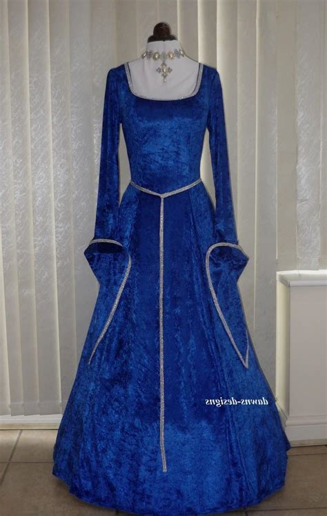 Baju Todur Satin blue and gold dress naf dresses