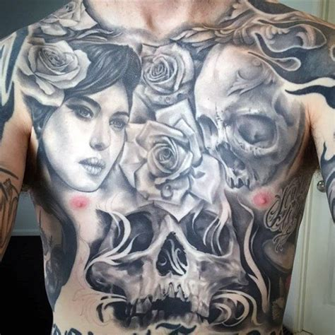 roses tattoos on stomach top 100 best stomach tattoos for masculine ideas