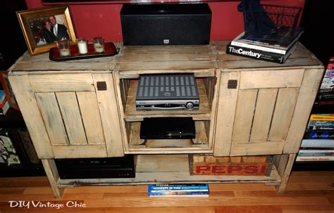 diy rustic tv stand plans ? woodguides