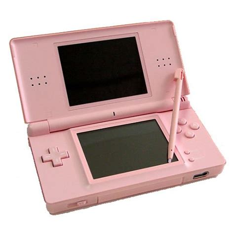 nintendo ds pink console digitalsonline nintendo ds lite console coral pink