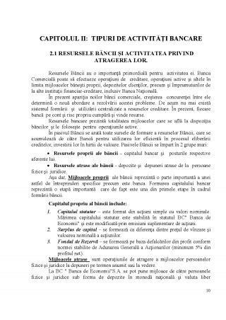 Corn癡r Banca Sa by Proiect Raport Privind Practica De Initiere Bc Banca De