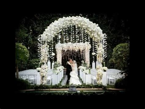 Best Garden Wedding Arch Decorations Pictures   YouTube