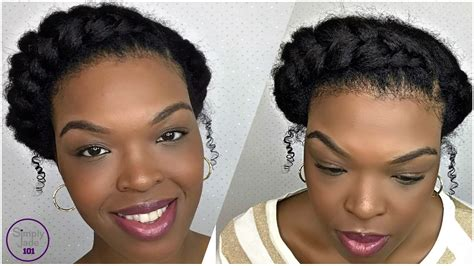 heatless protective hairstyles how to protective style goddess braid natural