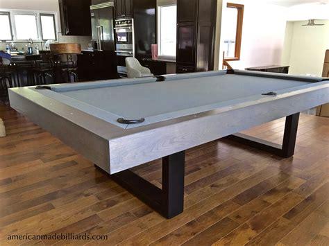 riviera oak contemporary steel pool table