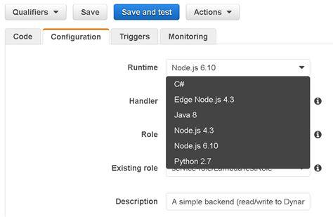 aws lambda tutorial node js aws lambda nods to node js devs with version upgrade adtmag