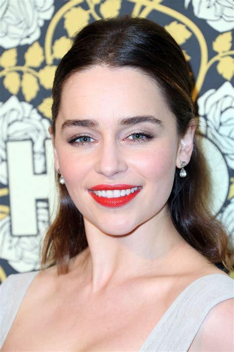 Emilia Clarke by Emilia Clarke Hbo Golden Globes 2016 Afterparty In
