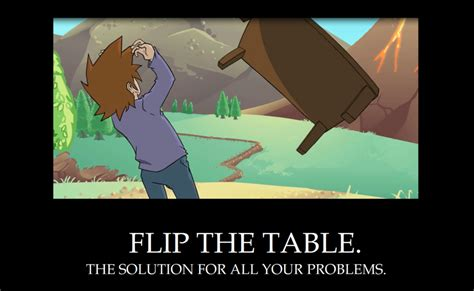 Flip The Table by Legends Of Tableflip