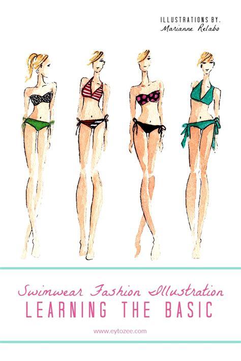 fashion illustration needed swimwear fashion illustration learning the basic