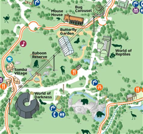 bronx zoo map reineck and reineck oregon zoo