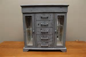 Gray Armoire Sale Gray Distressed Jewelry Box Armoire