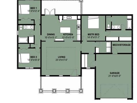 simple  bedroom house floor plans simple  bedroom  bath