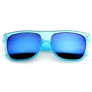color sunglasses retro fashion frosted color horn rimmed style sunglasses w