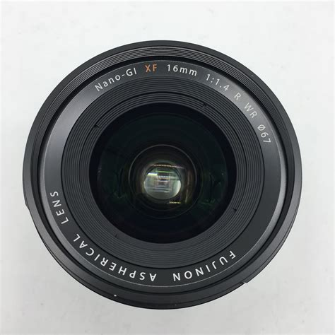 Fujinon Lens Xf 16mm F1 4 R Wr fujifilm 16mm f1 4 r wr xf fujinon isell