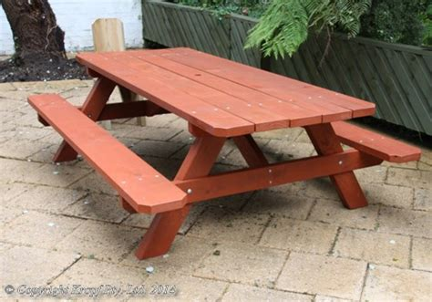 patio picnic table all in one economical picnic tables used as patio furniture