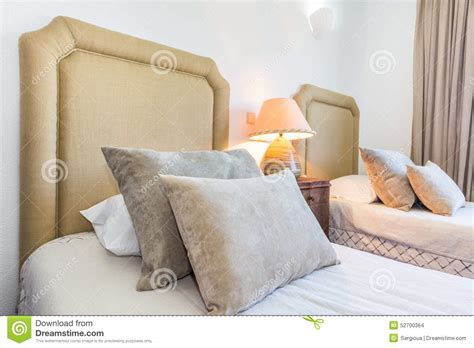 comfortable bed pillows comfortable pillows for decoration stock photo image