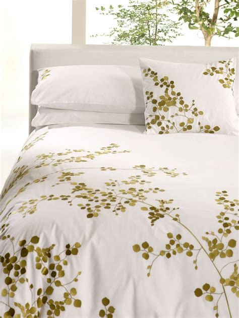 margaret muir swaying leaves duvet cover set house