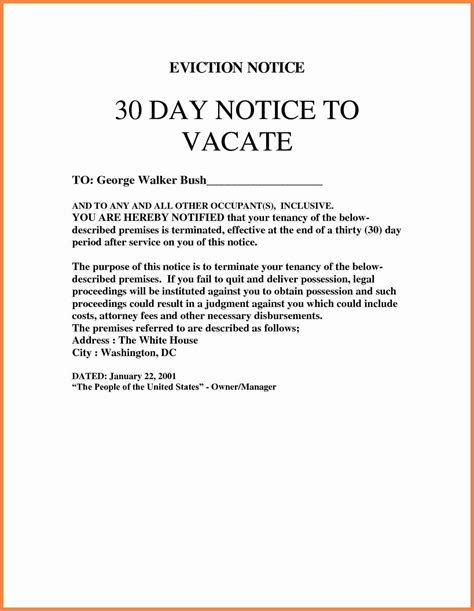eviction notice template business mentor