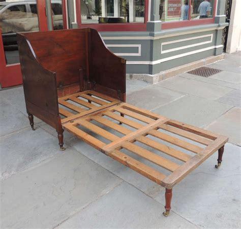 bett auf englisch regency 19th century mahogany caign chair bed