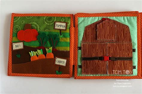 Handmade Busy Book - handmade cloth busy book for sergio