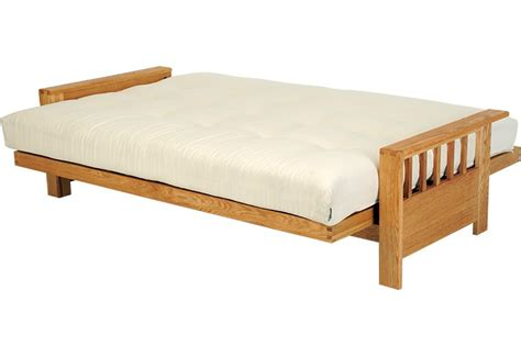 3 seater futon sofa bed 3 seater futon sofa bed in solid wood oak futon company