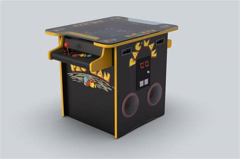 cocktail table arcade cocktail table pac arcade 3d model