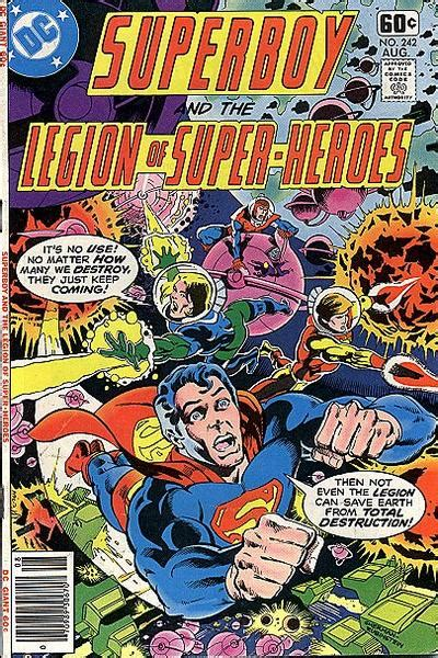 superboy and the legion of heroes vol 2 superboy and the legion of heroes vol 1 242 dc
