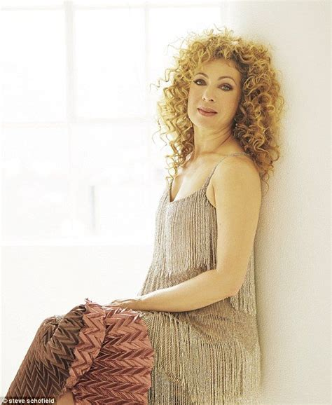 river song hair alex kingston i ve lived through some tough stuff and
