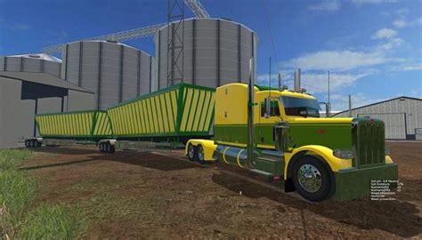 h s fruit truck peterbilt 388truck australia trailer multifruit fs15
