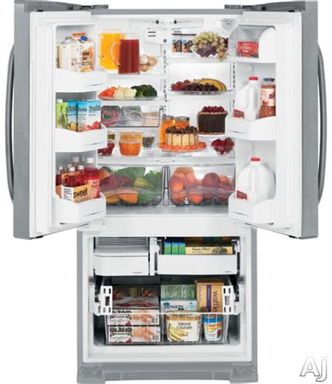 ge refrigerator deli drawer replacement ge gfsf2kexww 22 2 cu ft french door refrigerator with 4