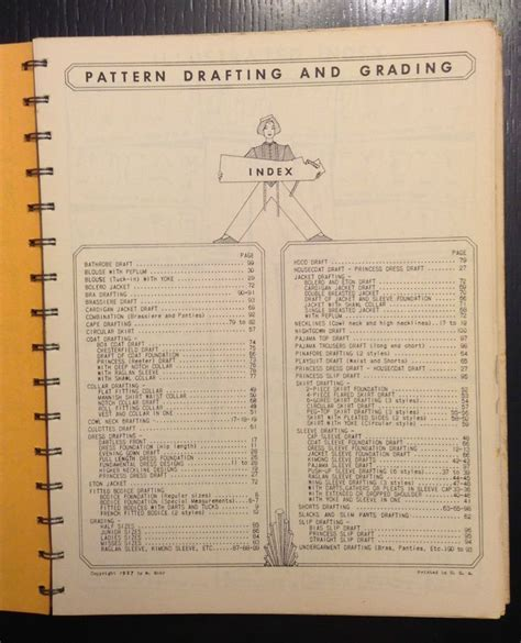 pattern drafting grading 1957 pattern drafting grading women s and misses