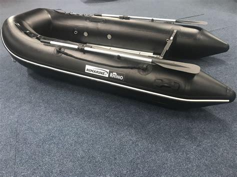 nimarine rubberboot nimarine rhino black 290 rubberboot brouwer watersport