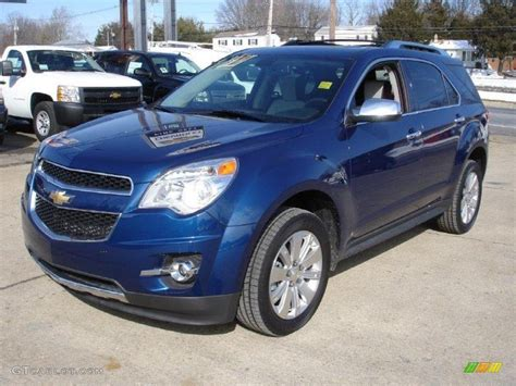 chevrolet equinox blue image gallery 2010 equinox blue