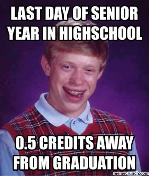 High School Senior Meme - senior year meme memes