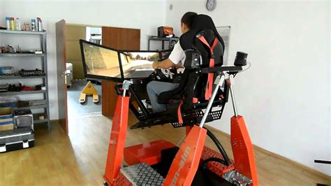 Racing Simulator Chair Hydraulic Www Motion Sim Cz 4x4 Simulator Is Released For Sale