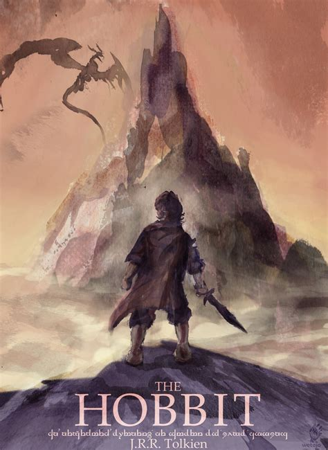 the hobbit book pictures hobbit book cover by wetojo once upon a hobbit