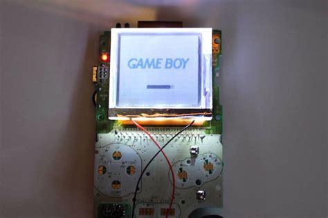 gameboy color backlight boy color frontlight held legend held