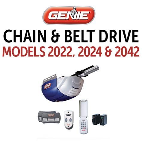genie garage door opener model 2024 genie garage door