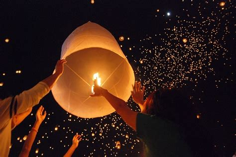 Make A Flying Paper Lantern - progress park anniv bash japanese lanterns bocce