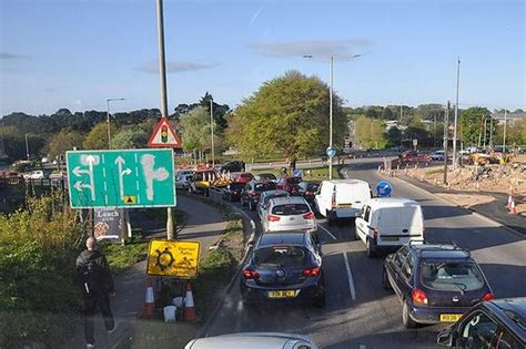 herald plymouth uk hour gridlock in plymouth plymouth herald
